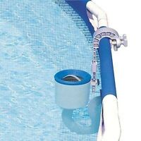 Intex Deluxe Wall Mounted Surface Pool Skimmer Blue/blue Os on sale