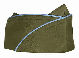US-Army-WW2-Infantry-EM-GARRISON-SIDE-CAP-All-Sizes-American-Military-Hat