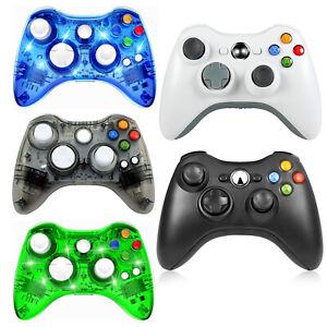 For Microsoft xBox 360 & PC WIN 7 8 10 Wired / Wireless Game Controllers Gamepad