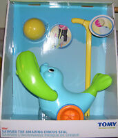 Tomy Sawyer The Amazing Circus Seal Plastic Motion Toy For Children Ages 18m+