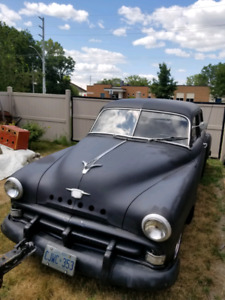 1951 Plymouth cranbrook rat rod have new engine