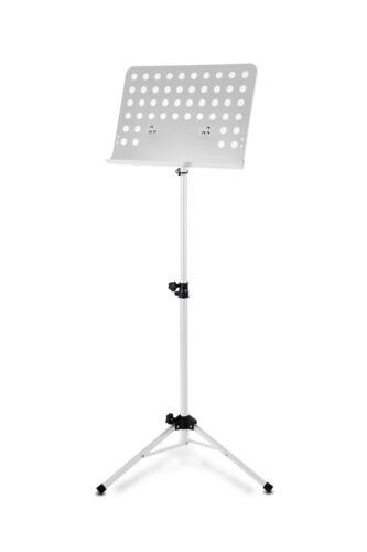 Lochblech Orchesterpult Notenständer Notenablage Notenpult Notenstand weiß