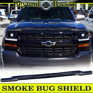 Hood Stone Guard-Aeroskin Smoke Hood Protector 322002 fits 07-13 Silverado 1500