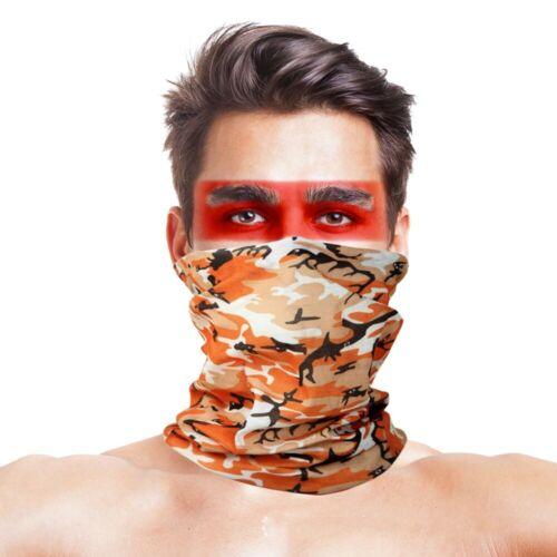 UV Face Mask Camouflage Fishing Scarf Magic Headwear Windpproof Head Scarves