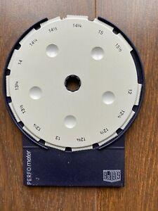 Safe 'Perfometer' Perforation Gauge