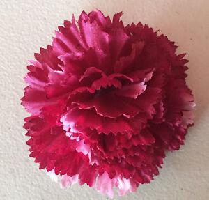 Blumenanstecker Anstecker Mit Blute Weinrot Nelke Hochzeit Neu
