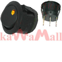12x Flush Mount Led Toggle Switch Amber Hl80590 Hella