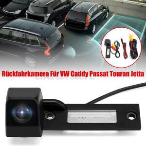 HD-Camera-de-Recul-grand-angle-pour-VW-Caddy-Passat-Jetta-Golf-Touran-T5
