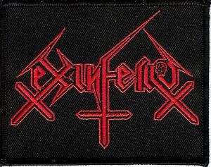 Ex-inferiis-logo-patch-Black-metal-Blasphemophagher-Children-Of-Technology
