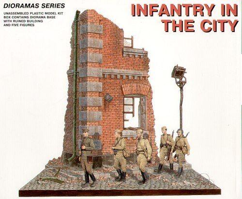 Minikonst 1  35 Fanteria i City Diorama