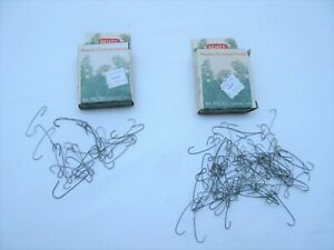 Vintage 1985 American Brite Star Christmas ornament bauble wire hangers prop use