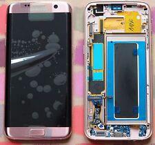 GENUINE PINK SAMSUNG SM-G935F GALAXY S7 EDGE SCREEN AMOLED 2k LCD FRAME DISPLAY