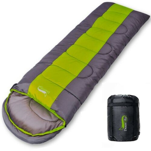 Outdoor Travel Camping Sleeping Bag 4 Trip Lightweight 4 Warm /& Cold Comfortable