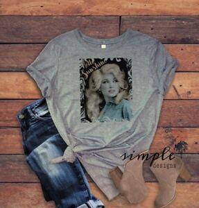 3a3b1eecc Hello Sunshine T-shirt, Dolly Parton Shirt, Vintage Tee, Country ...