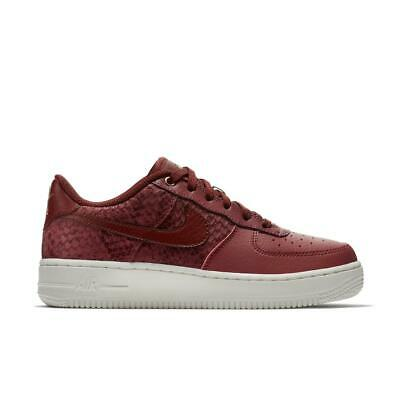 Nike Big Kids/' Air Force 1 LV8 NEW AUTHENTIC Action Red 820438-601 GS