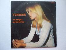 TONICHA - CANTIGAS POPULARES LP 1976 PORTUGAL JORGE PALMA PSYCH FOLK POKORA 2**