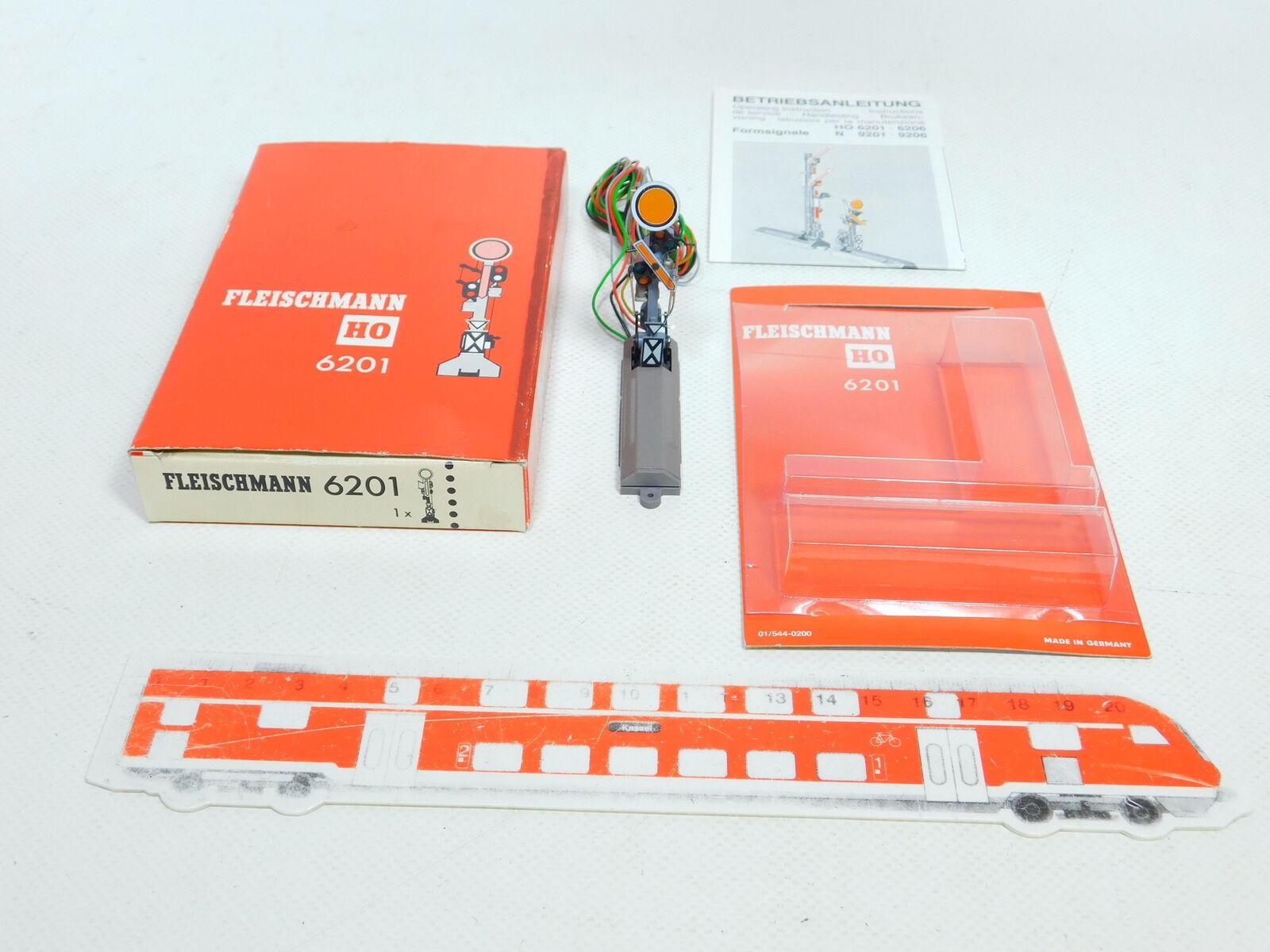 Bx687-0,5 Fleischmann H0   Dc 6201 Signal Agreeniseur Forme   Éprouvé, Top +
