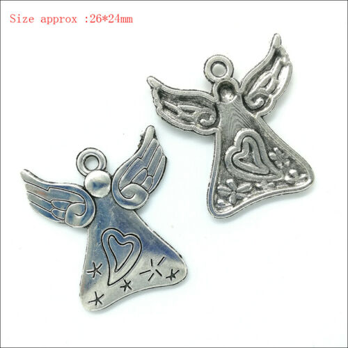 100 kinds Antique Charms Pendants For Earrings Bracelet Necklace Jewelry Making
