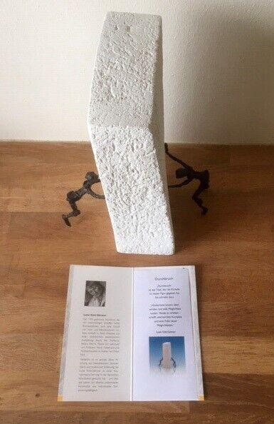 Bronzefigur, Luise Kött-Gärtner, motiv: Gennembruddet
