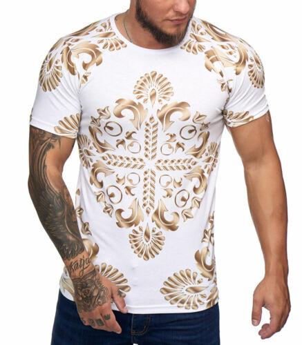 T-shirt fashion pour homme T-shirt 1375 blanc