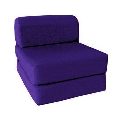 Choose Size Single Twin Full Sleeper Chair/Seat/Mattress/Fold/Folding Foam Bed