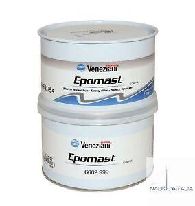 VENEZIANI-EPOMAST-0-5-KG-STUCCO-EPOSSIDICO-BICOMPONENTE-NAUTICA-BARCA