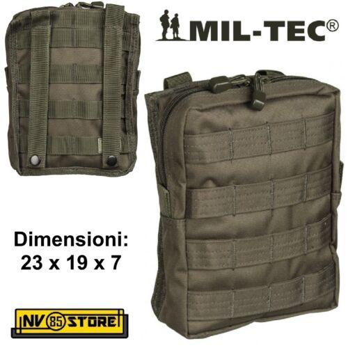Tasche Utility Mil-Tec System Weich für Weste Taktische Softair Od 13487101