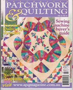 Australian Patchwork & Quilting - SEVEN magazines -and Choose from ... : australian quilt magazines - Adamdwight.com