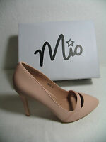 Italienische Damen Schuhe Pumps High Heels Stiletto Gr. 40 Rose´