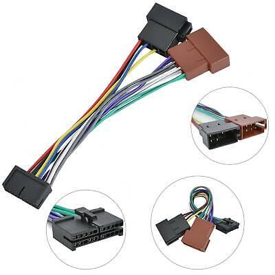 Kompatibel mit Prology 20 Polig Radio ISO DIN Auto Kabel Stecker ...