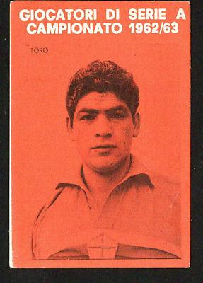 TORO SAMPDORIA FIGURINA CALCIATORI PANINI 1962//63