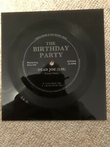 BIRTHDAY PARTY feat NICK CAVE - FLEXI DISC - DEAD JOE (1982) Masterbag Flexi