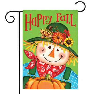 "Blessed Fall Garden Flag Primitive Autumn Pumpkins 12.5/""x18/"" Thankful Grateful"