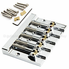 NEW Hipshot 5K501C Kickass 5 STRING Bass BRIDGE Retrofits Badass V Bass - CHROME