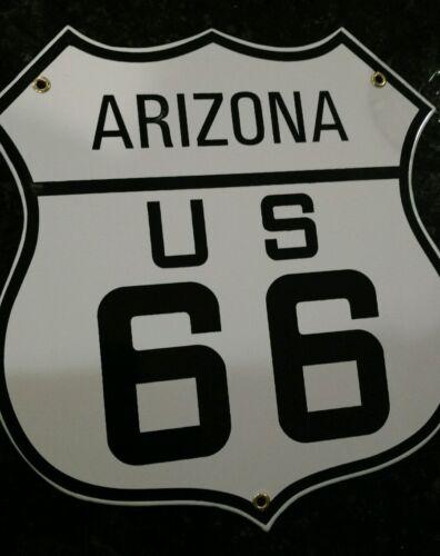 Route 66 Arizona porcelain sign