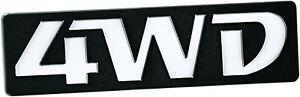 Auto-CHROM-Relief-Schild-4WD-4-WD-Emblem-10-cm-HR-Art-14816
