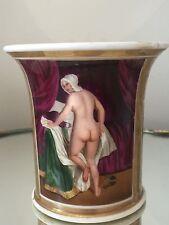 Antique 19c Old Paris SEVRES Handpainted NUDE FIGURE Cup Mug NO SAUCER Gold Gilt