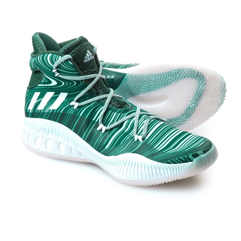Men's Adidas Crazy Explosive NBA Basketball Sneakers Shoes Green Size 18