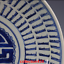 miniature 4 - China old antique Qing Dynasty Blue and white Shou character Porcelain plate