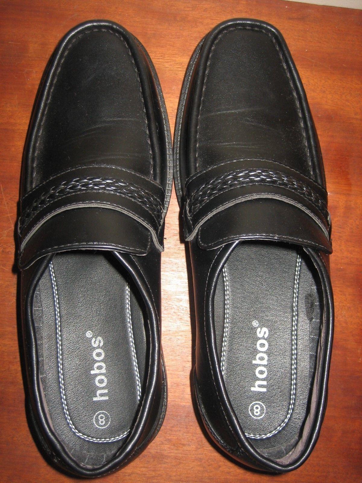 Hombre BNWOB HOBOS Negro Talla SLIP ON Zapatos Talla Negro 10 34bedf