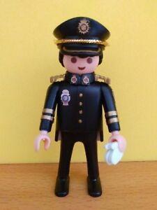 PLAYMOBIL-POLICIA-NACIONAL-CNP-UNIFORME-GRAN-GALA-PERSONALIZADO-CUSTOM-POLICE