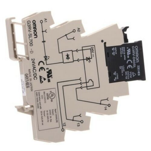 Omron G3RV-SL700-D 24VAC//DC SPST Solid State Relay 3A 001198