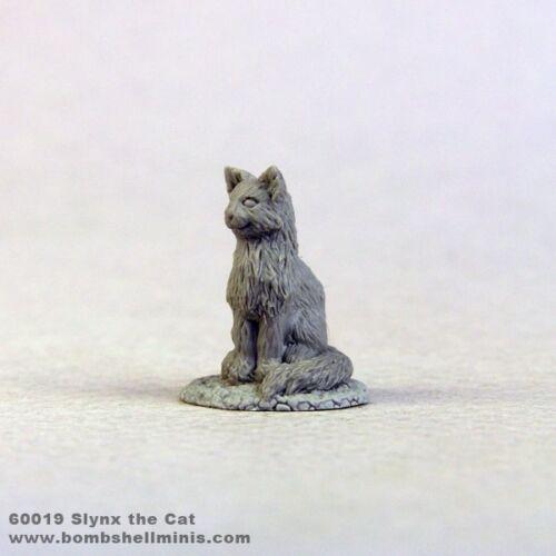 Bombshell BOM60019 Slynx the Cat Animal Feline Companion Miniature Sidekcks