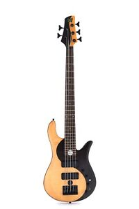 Yinyang-5-Strings-Electric-Bass-Guitar-Rosewood-Top-Complicated-Technology-24F