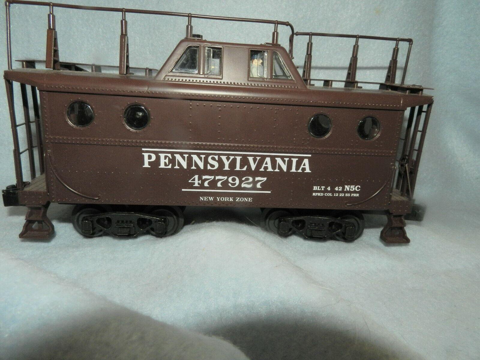 A Lionel Pennsylvania 477927 nuovo York Zone Caboose Lighted OScale modellolo Train