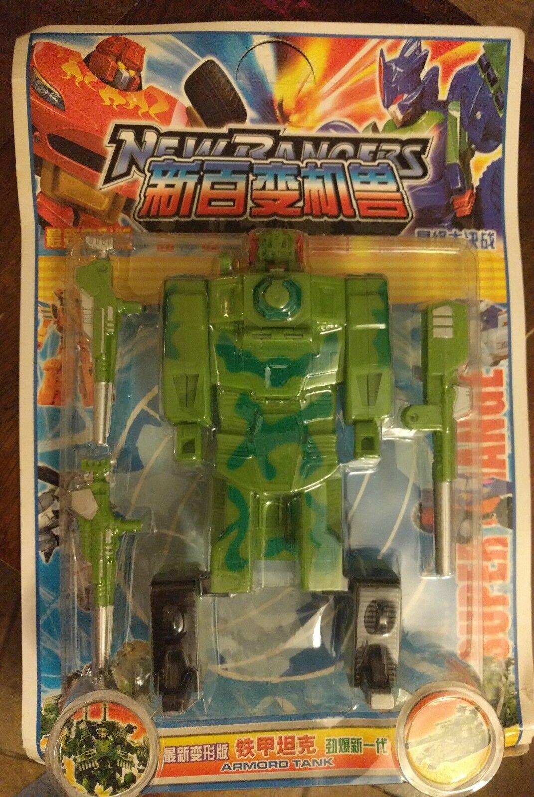 Transformers K.O. - nuevo Rangers De Gran Tamaño Brawl-Tanque Blindado Nuevo