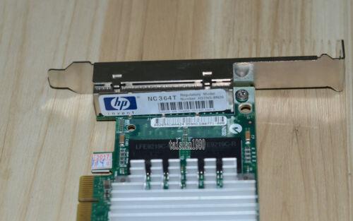 HP 435508-B21 436431-001 NC364T PCI-E QUAD PORT GB-E ETHERNE NIC SERVER ADAPTER