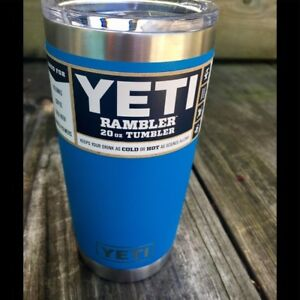 05d3e7c6420 Details about YETI 20 oz Tumbler MAGSLIDER Limited Edition Tahoe Blue  DuraCoat 100% Authentic!