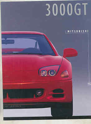 1995 Mitsubishi 3000 GT Brochure mx7824