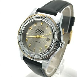 SLAVA-Automatic-Watch-2MCHZ-Russia-Date-Mineral-Glass-Casual-Men-Bezel-Imitation